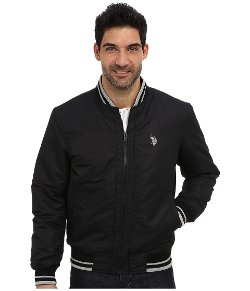 U.S. Polo Assn.  - Polyfill Baseball Jacket