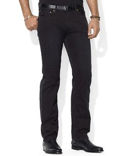 Polo Ralph Lauren  - Flat Front Straight-Fit Chino Pants
