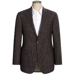 Hickey Freeman  - Wool Check Sport Coat