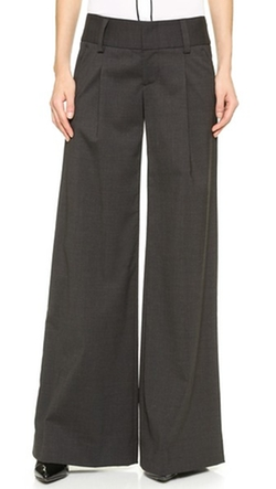 Alice + Olivia - Eric Front Pleat Wide Leg Pants