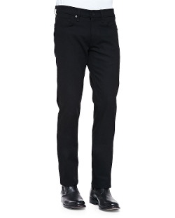 J Brand Jeans - Kane Black Stretch-Denim Jeans