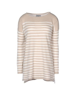 Komodo - Round Collar Stripe Sweater