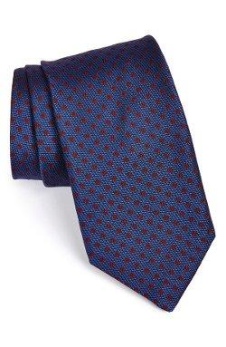 Todd Snyder White Label  - Woven Dot Silk Tie