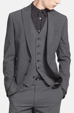 John Varvatos Star USA  - Peak Lapel Blazer