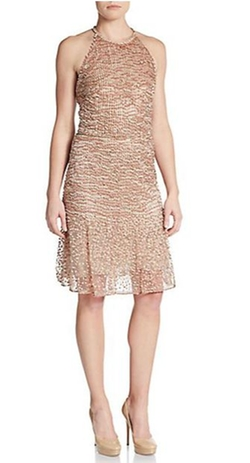 Valentino  - Embellished Halter Dress
