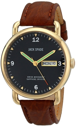 Jack Spade - Gold-Tone Stainless Steel Watch