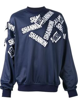 Christopher Shannon   - Patch Appliqué Sweatshirt