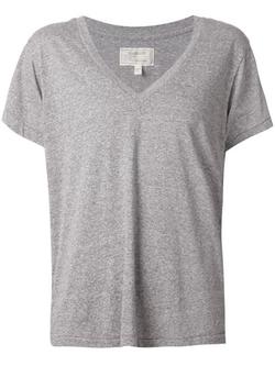 Current/elliott - Solid V-Neck T-Shirt