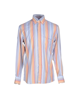 Del Siena  - Long Sleeve Stripe Button Shirt