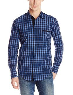 Boss Orange - Plaid Long Sleeve Woven Shirt