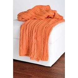 Rizzy Home  - Cable Knit Sweater Fabric Throw