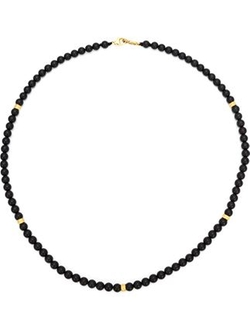 Roman Paul - Onyx Beaded Necklace