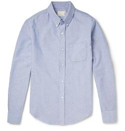 Band of Outsiders   - Slim-Fit Cotton-Oxford Shirt