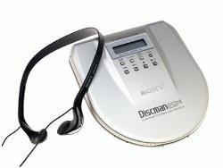 Sony - Discman Portable CD Player