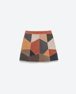 Zara - Patchwork Skirt