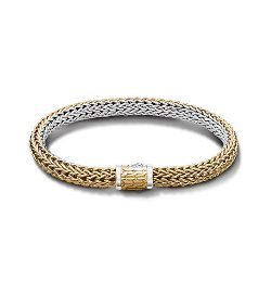 John Hardy - Classic Chain Collection Medium Reversible Bracelet