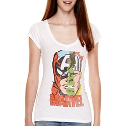 Short-Sleeve Marvel - Graphic T-Shirt