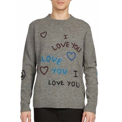 Kenzo - I Love You Wool Sweater