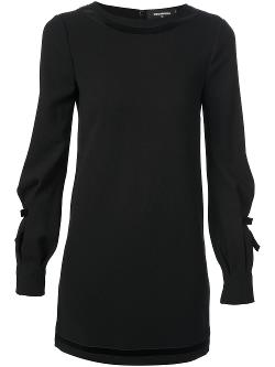 DSQUARED2  - Long Sleeve Shift Dress
