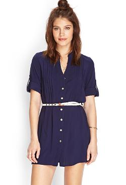 Forever21 - Button Front Shirt Dress