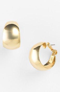 Anne Klein - Wide Hoop Earrings