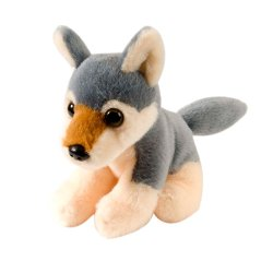 Wild Republic - Stuffed Wolf Itsy Bitsy Plush Animal Toy