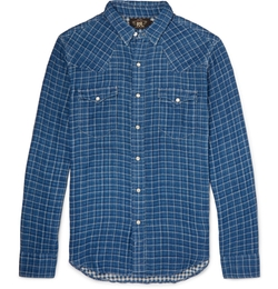 Rrl - Slim-Fit Checked Cotton Shirt
