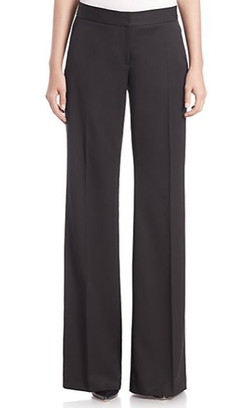 Stella McCartney - Erin Flared-Leg Wool Tuxedo Trousers