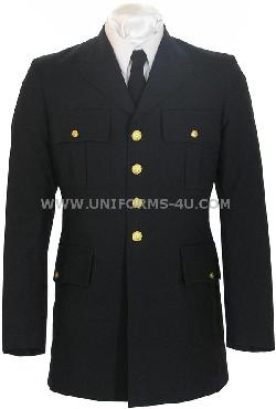 The Salute Uniforms - US ARMY DRESS BLUE ASU OFFICER JACKET