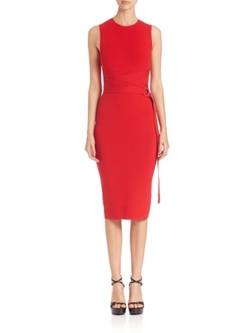 Michael Kors Collection  - Belted Sheath Dress