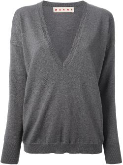 Marni  - V-Neck Sweater