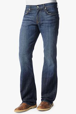 7 FOR ALL MANKIND - BRETT MODERN BOOTCUT IN NEW YORK DARK