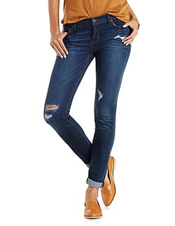 "Charlotte Russe - Refuge ""Boyfriend"" Destroyed Jeans"