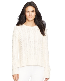 Ralph Lauren - Cable Knit Cotton Sweater