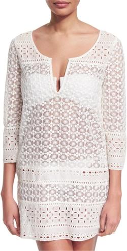 Diane von Furstenberg - Montauk Crocheted Tunic Coverup
