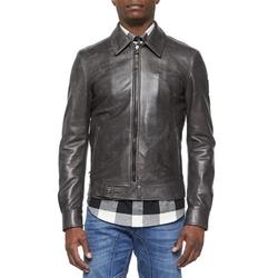 Belstaff - Heritage Ryder Faded Leather Jacket