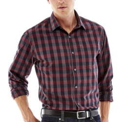 Claiborne - Long-Sleeve Woven Shirt