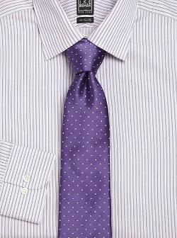 Ike Behar  - Polka Dot Print Tie