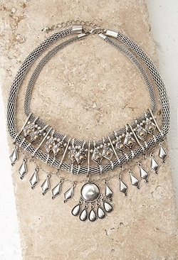 Forever 21 - Geo Mesh Chain Necklace