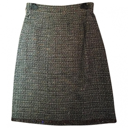 Chanel - Grey Tweed Skirt