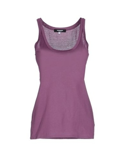 Dsquared2 - Round Collar Tank Top