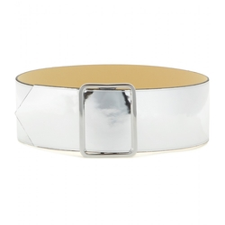MCQ Alexander McQueen - Metallic Leather Belt