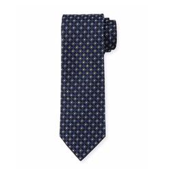 Boss Hugo Boss  - Neat Diamond-Box Printed Silk Tie