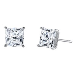 Diamon Art - Square Stud Earrings