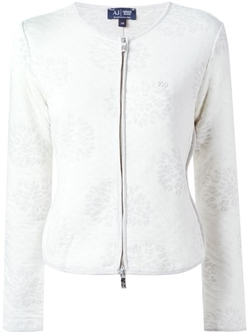 Armani Jeans   - Zip Front Knit Jacket