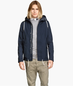 H&M - Canvas Parka Jacket