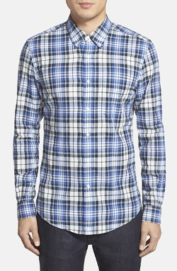 Aspesi  - Slim Fit Plaid Sport Shirt