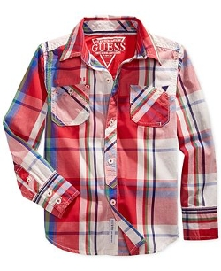 Guess  - Merchant Plaid Shirt