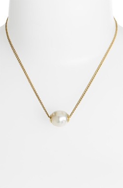 Majorica - Baroque Pearl Pendant Necklace