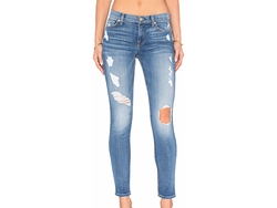 7 For All Mankind - The Squiggle Destroy Skinny Jeans